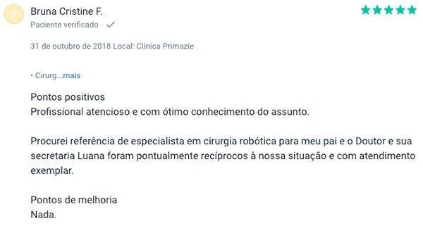 Dr. Paulo Maron depoimento 1